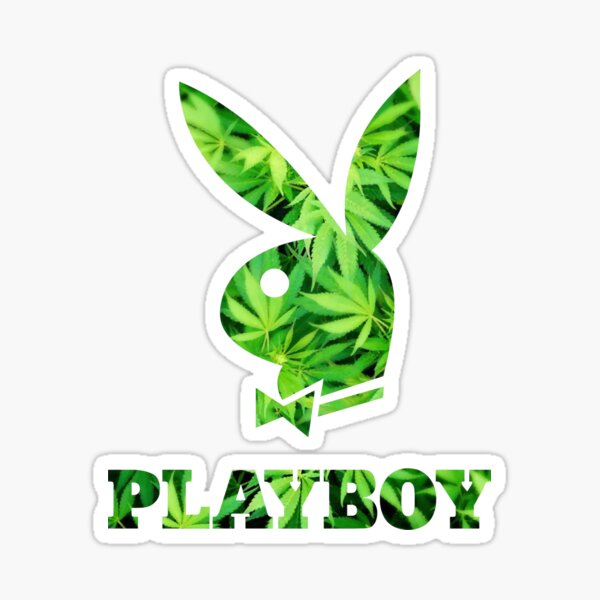 Herbe Playboy Sticker