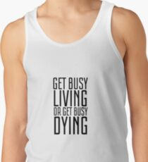 Movie Quote Shawshank Redemption Film Famous Inspirational Tank Top