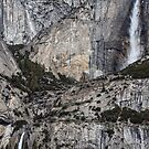 Lower Upper and upper Lower Yosemite Falls by eclectic1
