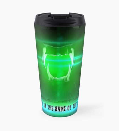 STOP in the name of the law - famous last words Travel Mug
