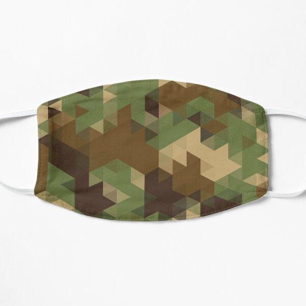 Triangle Camouflage Flat Mask