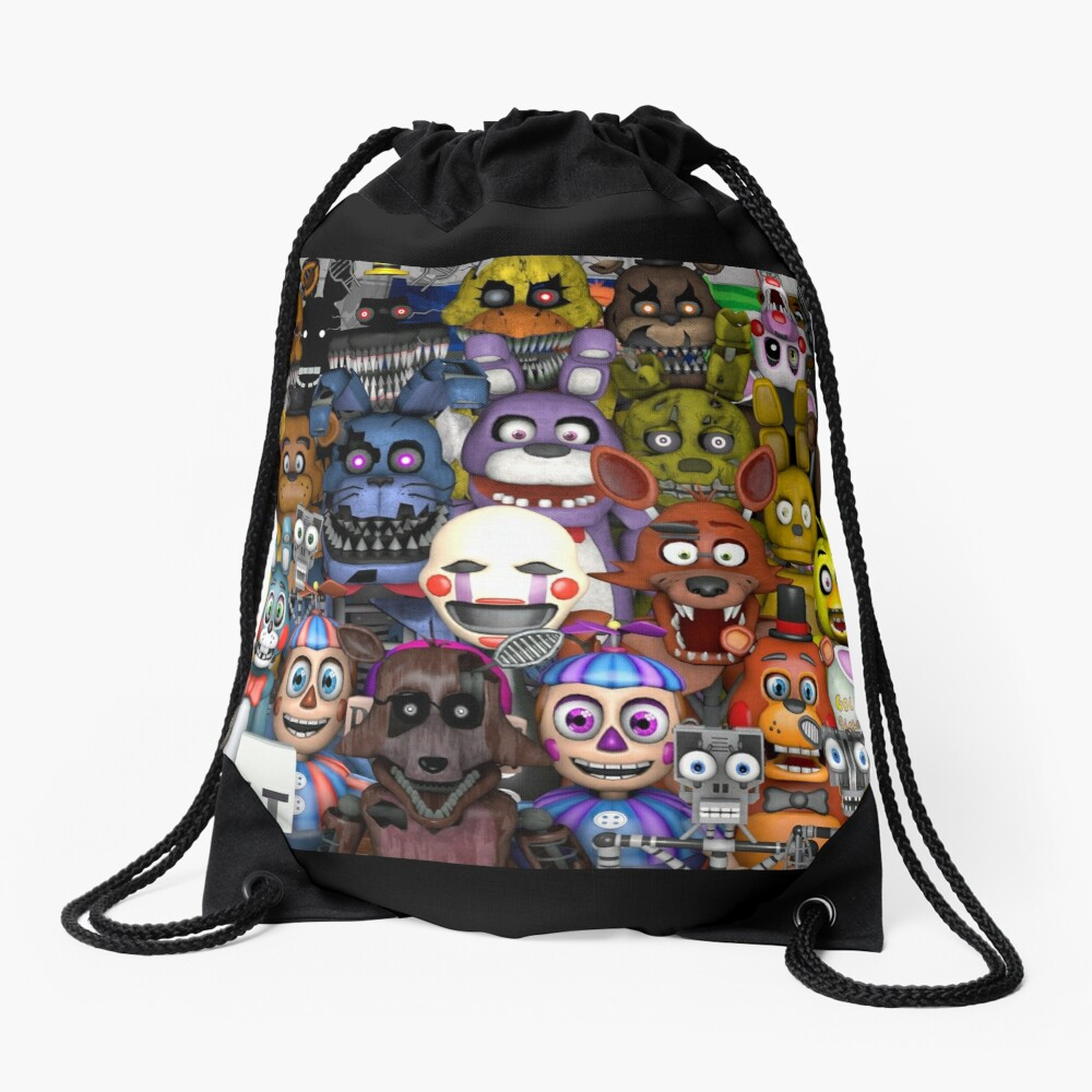 FNaF ~ 5 Five Nights at Freddys ~ Videojuego Gamer Gaming Mochila saco