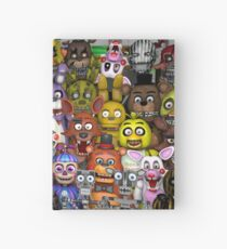 FNaF ~ 5 Five Nights at Freddys ~ Video Game Gamer Gaming Hardcover Journal