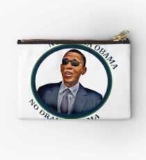 No Drama Obama Zipper Pouch