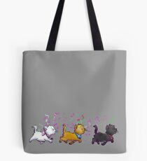Kitten Trio Tote Bag