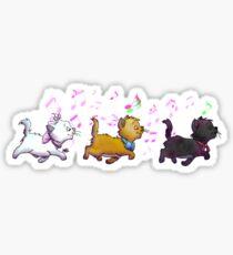Kitten Trio Sticker