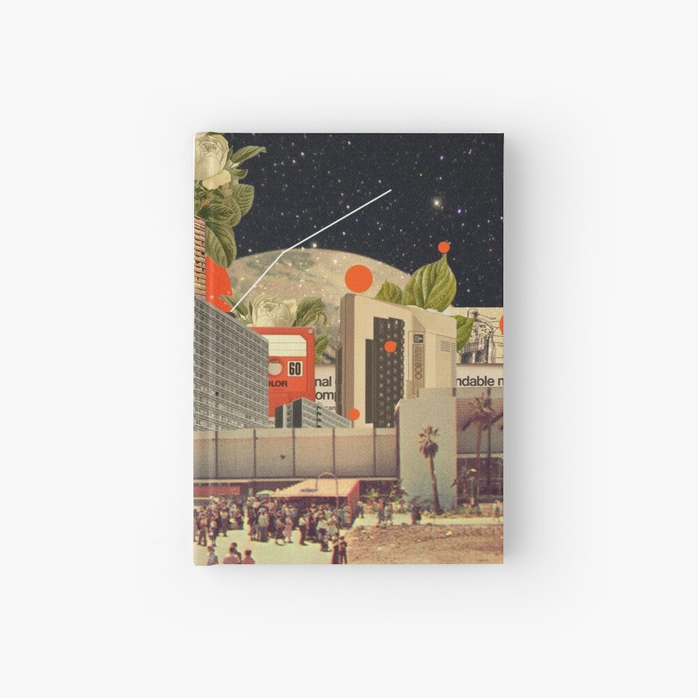 Software Road Hardcover Journal