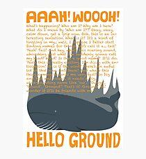 Hello Ground! Photographic Print