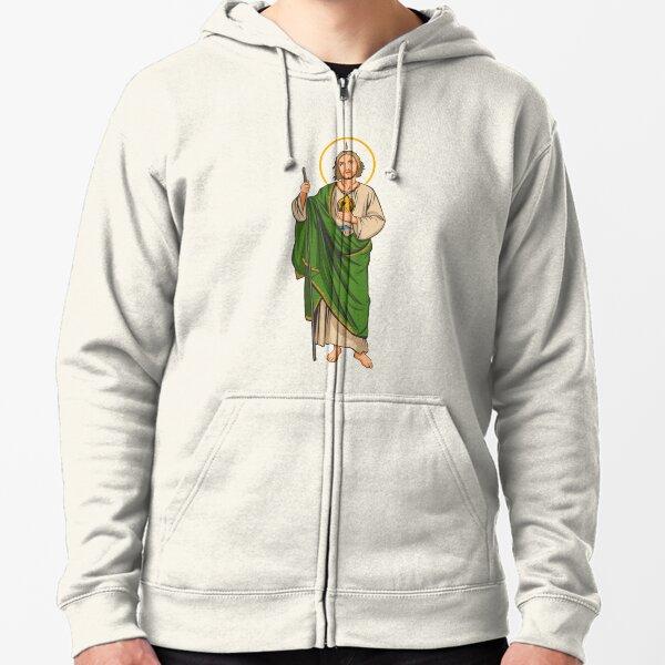 St. Jude Thaddeus  Zipped Hoodie