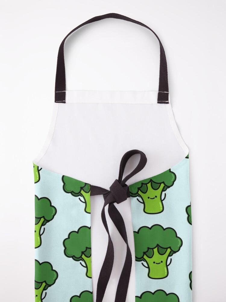 Alternate view of Cute Broccoli Apron