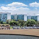 Esplanada dos Ministérios, Brasília by Frans Harren