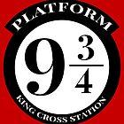 Platform 9 3/4 by drtees