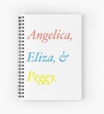 Cuaderno de espiral Las hermanas Schuyler