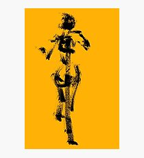 Yellow Character by Jenny Meehan Photographic Print