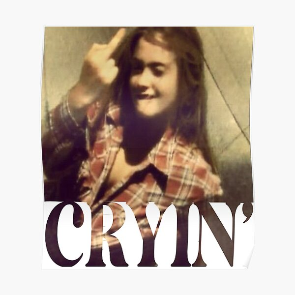 Cryin' Poster