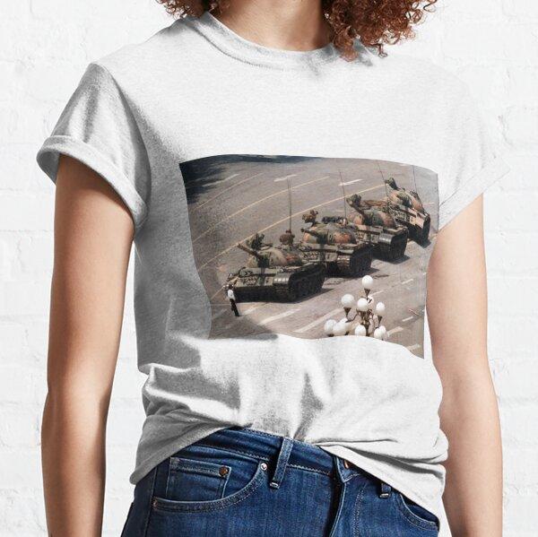 Tank Man, Tiananmen Square Classic T-Shirt