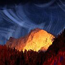 the rock at sunset von donphil