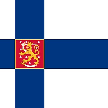 State Flag of Finland by abbeyz71