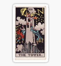 The Tower - Lord of the Hosts of the Mighty Sticker