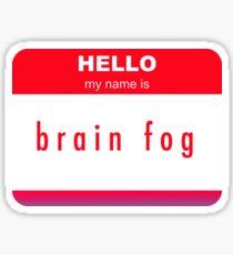 Brain Fog Sticker