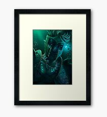 The Angler Framed Print