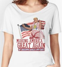 Making America Great Again! Donald Trump (IDIOCRACY) Women's Relaxed Fit T-Shirt