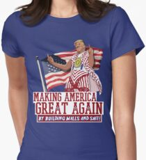 Making America Great Again! Donald Trump (IDIOCRACY) Womens Fitted T-Shirt