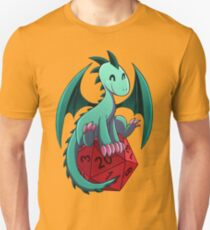 D&D - Dragons and Dice! (Green Dragon) T-Shirt