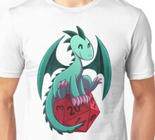 D&D - Dragons and Dice! (Green Dragon) Unisex T-Shirt