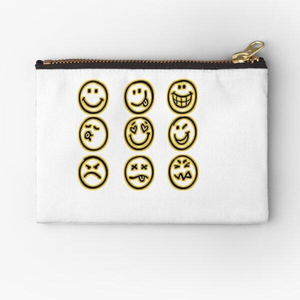 discord emoji zipper pouches redbubble