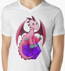 D&D - Dragons and Dice! (Pink Dragon) T-Shirt