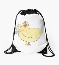 Unnatural Omlette Drawstring Bag
