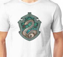 Hogwarts House Crest - Slytherin Snake Unisex T-Shirt