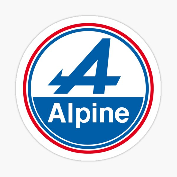 ALPINE A110 A310 A610 BERLINETTE Sticker