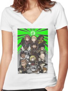 Dragon Age Inquisition Women's Fitted V-Neck T-Shirt