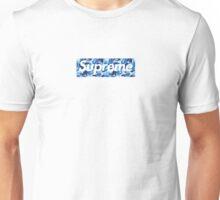 Supreme X Bape camo BLUE Unisex T-Shirt