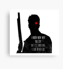 I Know Now Why You Cry... Canvas Print