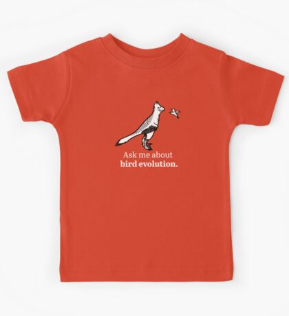 Ask Me About Bird Evolution Kids Clothes