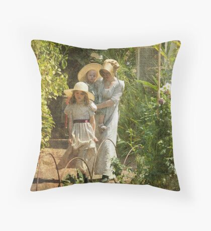 Colonial Days Throw Pillow