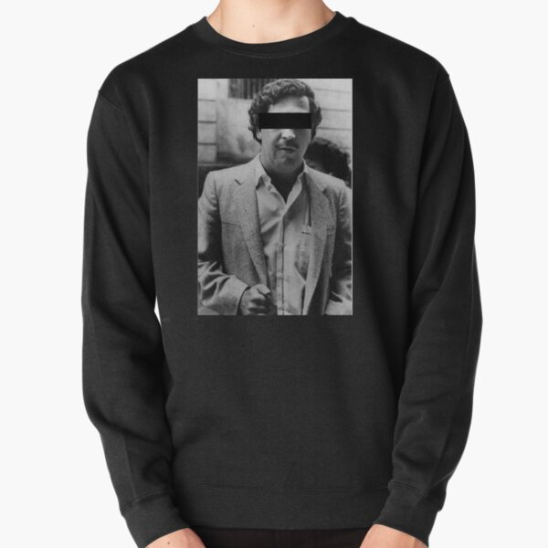 El Chapo Sinaloa Cartel Hoodie Mexican Crime Boss Sicario Pullover Sweater gray