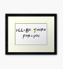 Friends Theme Song Framed Print