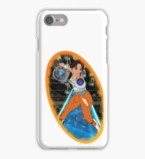 Portal - Chell & Wheatley iPhone Case/Skin