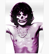 THE MISFITS JIM MORRISON Mash Up (Original/ White) Poster