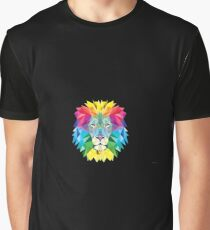 Vector Lion Graphic T-Shirt