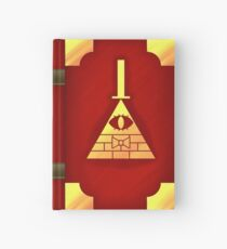 Gravity Falls Inspired Book of Cipher, RED Hardcover Journal