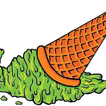 Green Slime Cream by srclark