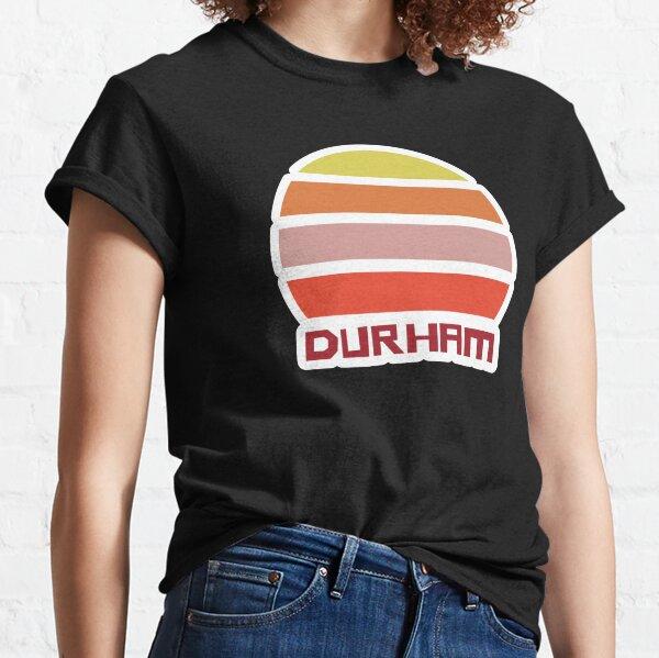 Retro Vintage Sunset Durham Souvenir Classic T-Shirt