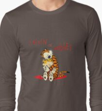 Calvin and Hobbes Big Hugs Long Sleeve T-Shirt