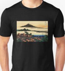 'Dawn at Isawa in the Kai Province' by Katsushika Hokusai (Reproduction) T-Shirt