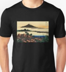 'Dawn at Isawa in the Kai Province' by Katsushika Hokusai (Reproduction) Unisex T-Shirt